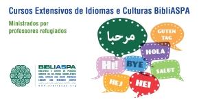 INSCREVA-SE NOS CURSOS EXTENSIVOS DE IDIOMASBIBLIASPA