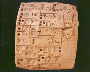 Tábua cuneiforme, Ebla.