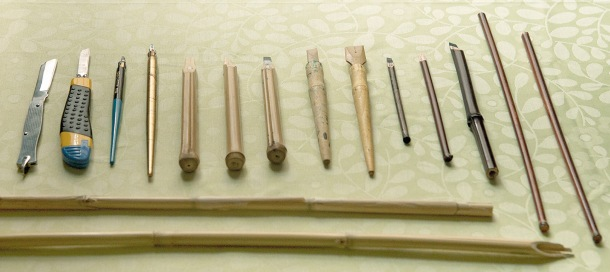 Arabic calligraphy tools bibliaspa english Arabic calligraphy tools
