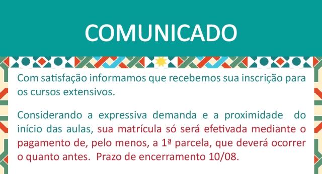 Comunicado_Matricula_Curso_Extensivo_BibliASPA_Slideshow
